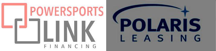 Powersports Link & Polaris Leasing Logos