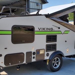 External side view of the 2021 Viking 12.0 TD XL with Off-road Package