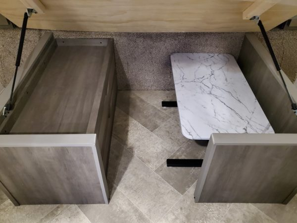 Table and extra storage