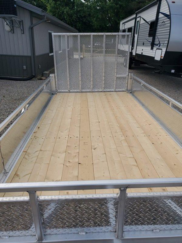 Deck of the 2021 Tow Tek 6x12 All Aluminum Landscape