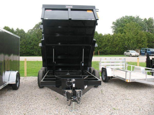 Box of the 2021 Force 80x12 12,000lbs GVWR Dump Trailer
